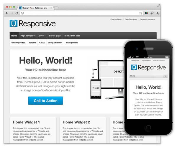 Diseño web móvil y reponsive design