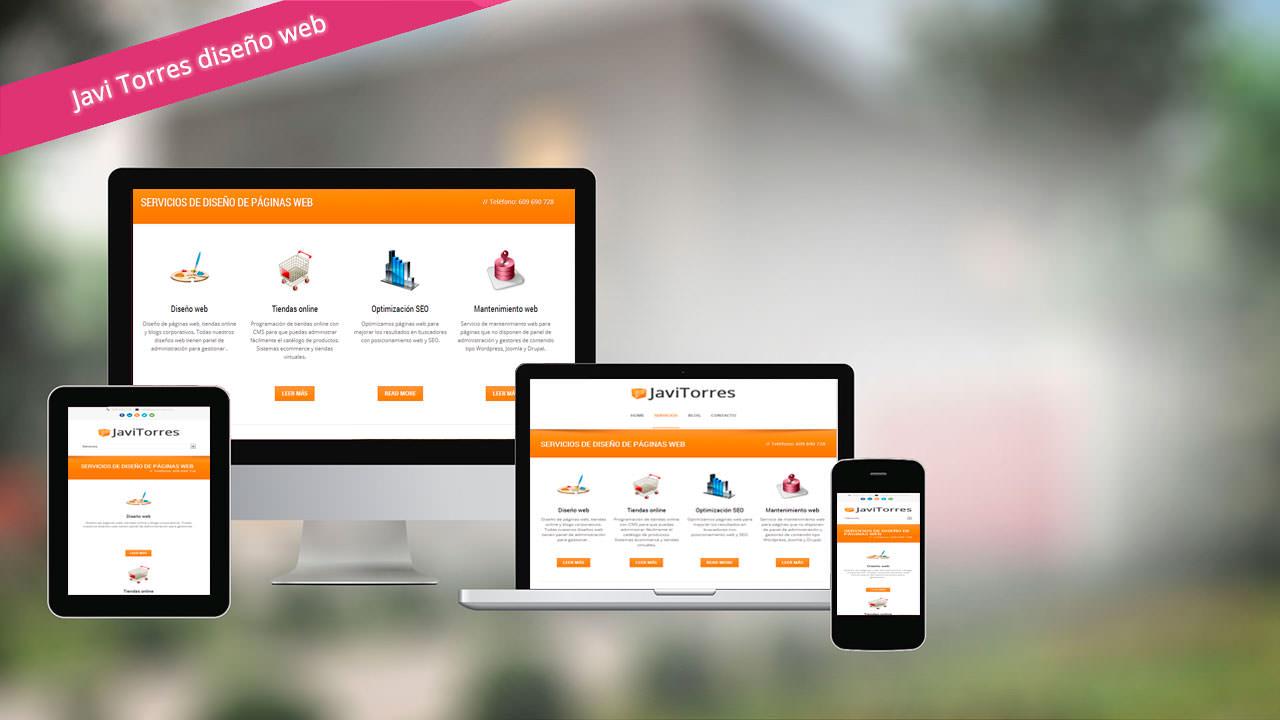 Diseño web y servicios para móviles