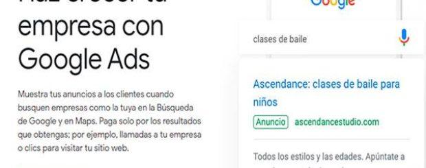 Anuncios en Google ADS