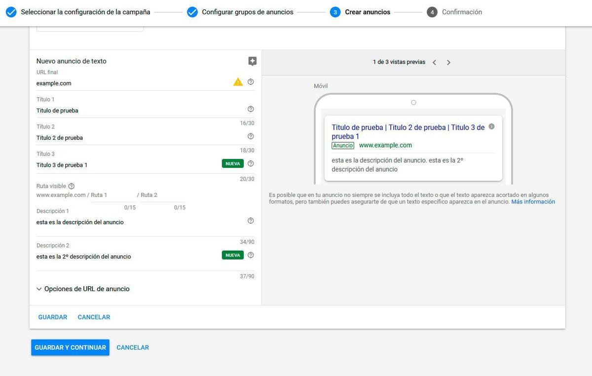 Cómo crear anuncios en Google ADS o Adwords