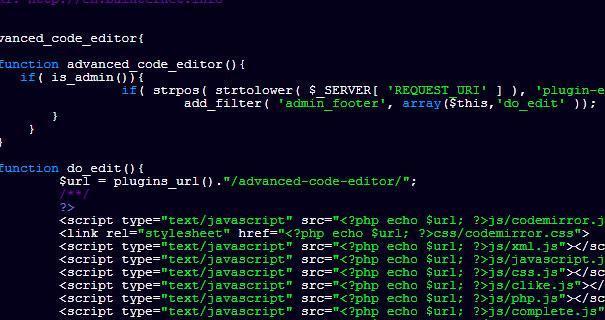 Optimizar el código PHP de la página web